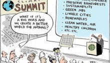 c. Joel Pett - #EarthtoParis
